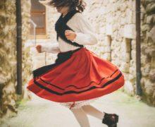 accesit individual Mª Teresa Fernández Baila miña nena baila